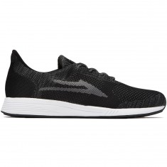 Lakai Evo Shoes - Black/Grey Knit