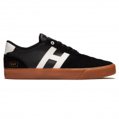 HUF Galaxy Shoes - Black/Gum Suede