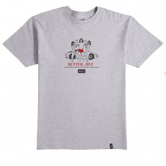 HUF X Butter Goods Buf T-Shirt - Heather Grey
