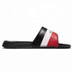Huf Worldwide Slides Shoes - Black