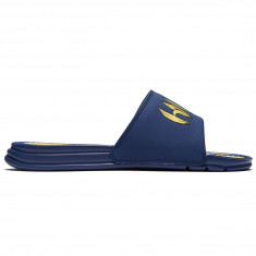 Huf Banana Slides Shoes - Navy