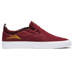 Lakai Riley 2 Shoes - Burgundy Suede