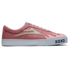 Lakai X Leon Karssen Sheffield Shoes - Pink Canvas