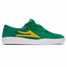 Lakai Griffin XLK Shoes - Green Suede