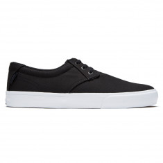 Lakai Daly Shoes - Black/Grey Canvas
