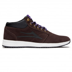 Lakai Griffin Mid Shoes - Chocolate Suede