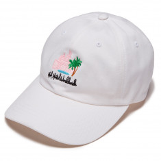 Huf Smokers Lounge Valet Hat - White