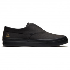 HUF Dylan Slip On Shoes - Black/Black/Black