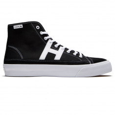 Huf Hupper 2 Hi Shoes - Black/White