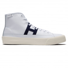 Huf Hupper 2 Hi Shoes - White/Navy