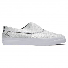 HUF Dylan Slip On Shoes - White/Black