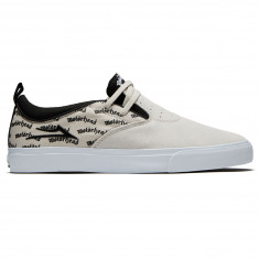 Lakai x Motorhead Riley 2 Shoes - White Suede