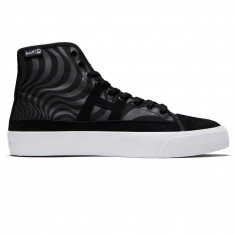 HUF x Spitfire Hupper HI Shoes - Black
