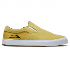 Lakai Owen VLK Shoes - Dusty Yellow Suede