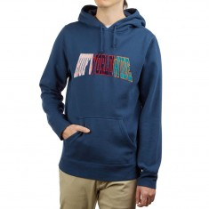 HUF Suspension Arched Hoodie - Insignia Blue