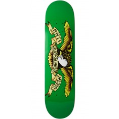 Anti-Hero Classic Eagle Skateboard Deck - Green - 7.81""