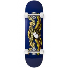 Anti-Hero Classic Eagle Skateboard Complete - Navy - 8.50""