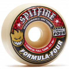 Spitfire Formula Four 101du Conical Full Skateboard Wheels - 53