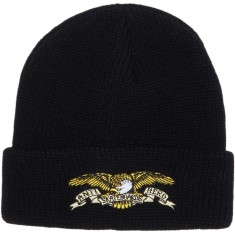 Anti-Hero Eagle Emb Cuff Beanie - Black