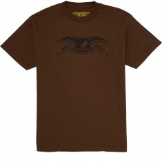 Anti-Hero Basic Eagle T-Shirt - Coffee