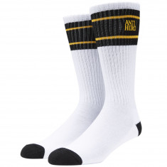 Anti-Hero Eagles Up Socks - White/Black/Yellow