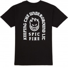 Spitfire Steady Rockin Bighead T-Shirt - Black