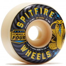 Spitfire Formula Four 99 du Radial Slims Speed Kills Skateboard Wheels - 51