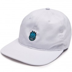 Spitfire Lil Bighead Strapback Hat - White/Light Blue