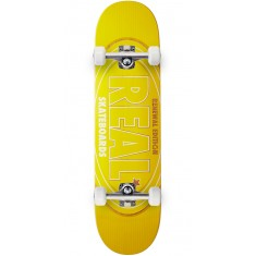 Real Oval Renewal Skateboard Complete - Green - 8.06""