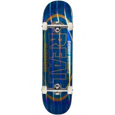 Real Busenitz Holographic Oval Skateboard Complete - 8.18""