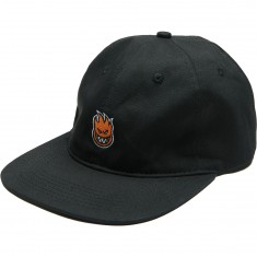 Spitfire Lil Bighead Strapback Hat - Black/Orange