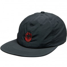 Spitfire Lil Bighead Outline Snapback Hat - Black/Red
