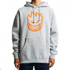 Spitfire Bighead Hoodie - Grey Heather