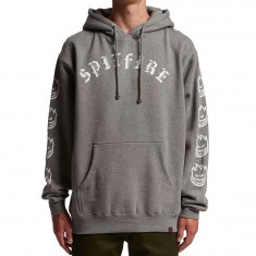 Spitfire Old E Hoodie - Gunmetal Heather