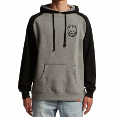 Spitfire Stock Bighead Hoodie - Gunmetal Heather/Black