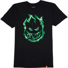 Spitfire 451 T-Shirt - Black/Green