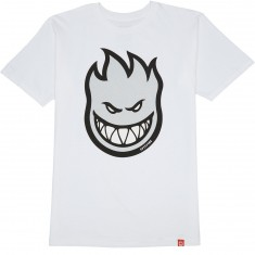 Spitfire Bighead Fill T-Shirt - White/Grey Reflective