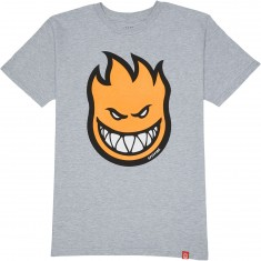 Spitfire Bighead Fill HD T-Shirt - Athletic Heather/High Density