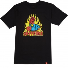Spitfire Demon Seed T-Shirt - Black