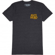 Anti-Hero Lil Blackhero T-Shirt - Charcoal Heather