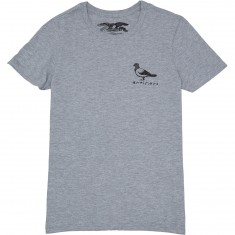 Anti-Hero Basic Pigeon T-Shirt - Heather Grey