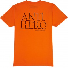 Anti-Hero Drophero T-Shirt - Orange