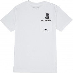 Anti-Hero Pocket Pigeon T-Shirt - White