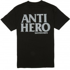 Anti-Hero Blackhero T-Shirt - Black/Reflective