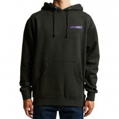 Krooked Moonsmile 2 Hoodie - Charcoal Heather
