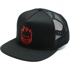 Spitfire Bighead Trucker Hat - Black/Red