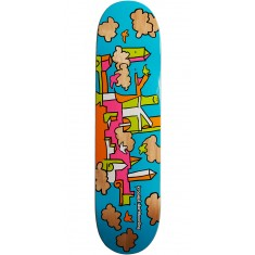 Krooked Skycastle Skateboard Deck - Blue - 8.06""