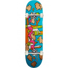 Krooked Skycastle Skateboard Complete - Blue - 8.06""