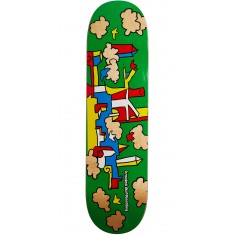 Krooked Skycastle Skateboard Deck - Green - 8.25""