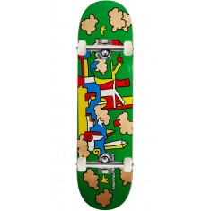 Krooked Skycastle Skateboard Complete - Green - 8.25""